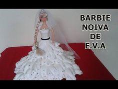 Resultado de imagen de barbie vestida con goma eva