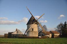 moulin dans le pays de Brie (77)