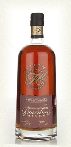 Parker's Heritage Collection Master Distiller's Blend of Mashbills (75cl, 65.80%)  This is the superb 2012 release of Parker's Heritage bourbon - a mix of some of Heaven Hill's best styles including rye- and wheat-based whiskey. The result of this is rich, buttery and full of spice.