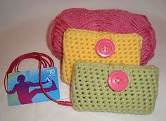 tangled happy: iPod Cozy  This is just what i wanted for Christmas gifts!