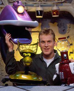 Mystery Science Theater gang, Gypsy, Tom Servo, Mike, Crooooooooow..... but where's Cambot? ;)