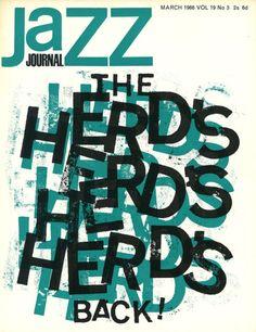 vinmagarchiveartprints:  Ref:AP0054 Jazz Journal March 1966
