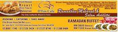 15 Jun 2015 Onward: D'Fos Cafe Ramadhan Promotion