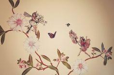 Amazon.com: Meri Meri Flower Fairies Wall Stickers (90 wall stickers & 1 chalkboard sticker): Kitchen & Dining