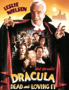 Watch Dracula: Dead and Loving It full hd online Directed by Mel Brooks. With Leslie Nielsen, Mel Brooks, Peter MacNicol, Steven Weber. Mel Brooks' parody of the classic vampire story and its 1995 Movies, Funny Movies, Comedy Movies, Film Movie, Good Movies, Funniest Movies, It's Funny, Hilarious, Film Dracula
