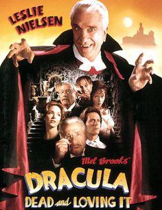 DRACULA: DEAD AND LOVING IT, Leslie Nielsen, Amy Yasbeck, Harvey Korman, Mel Brooks, Peter MacNicol, Steven Weber, Lysette Anthony, 1995, (c) Columbia