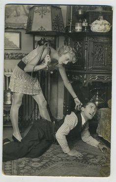 Naughty postcard from the 1920's.
