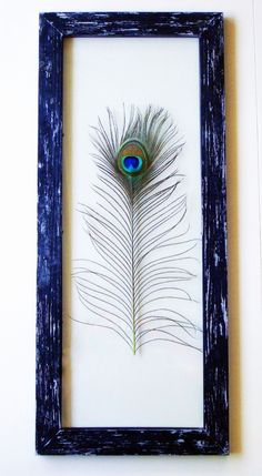 35 Unique Peacock Feather Wall Decor Ideas