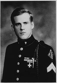 Eugene Sledge In 1981 Sledge published With the Old Breed: At Peleliu and Okinawa a memoir of his World War II service with the United States Marine Corps. In April 2007 it was announced that With the Old Breed along with Robert Leckie's Helmet for My Pillow would form the basis for the HBO series The Pacific from the same producers as Band of Brothers.