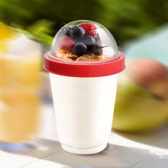 Yogurt cup to-go!