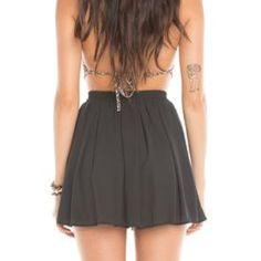 Black Brandy Melville Skirt 💀 🎉FLASH SALE🎉 Flowy Brandy Melville Skirt One Size Brandy Melville Skirts Circle & Skater