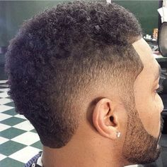 Haircuts for Men, look cool with a well done fade haircut. Visit us Pro Barber 39 Long Street Cape Town 0731364955 # Boys Curly Haircuts, Black Men Haircuts, Black Men Hairstyles, Hairstyles Haircuts, Curly Hair Cuts, Short Hair Cuts, Curly Hair Styles, Temp Fade Haircut, Mohawk For Men