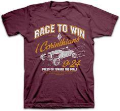 Race To Win Christian T-shirt