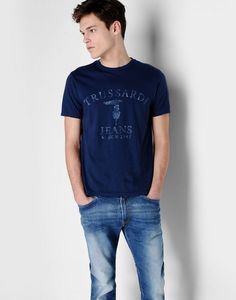 T-shirt Men - Topwear Men on Trussardi.com Online Store
