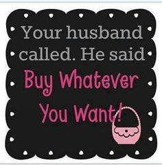 Shop away!