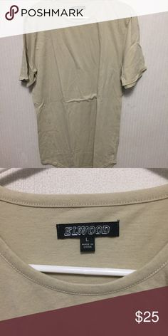 cf19cf94 Pacsun tan scallop shirt condo Fits true size *selling cheaper on depop,  username PacSun Shirts Tees - Short Sleeve