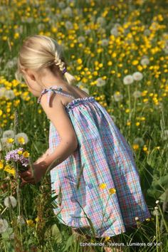 "country life, sweet and simple / ""flower girl"""