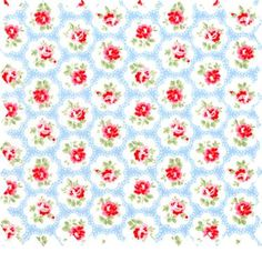Provence Rose Large Cotton Duck - Cath Kidston Fabric