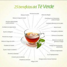 El #TeVerde destaca por sus múltiples beneficios para nuestra #salud