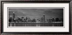 Chicago - B Reflection Photographic Print by Jerry Driendl at Art.com