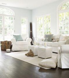 Furniture arrangement?   Interior With Bear by William