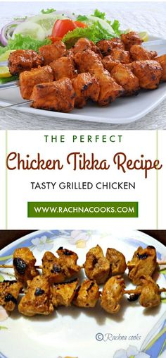 #Chicken Tikka Recipe Made in Airfryer is perfectly tasty, juicy and spicy. Do try my #chickentikka recipe at home. #airfryerrecipes