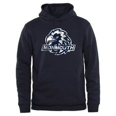 Monmouth Hawks Big & Tall Classic Primary Pullover Hoodie - Navy - $49.99