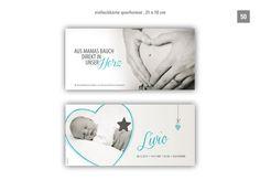 kartenlabor.ch Frame, Home Decor, Thanks Card, Birth, Cards, Picture Frame, Decoration Home, Room Decor, Frames