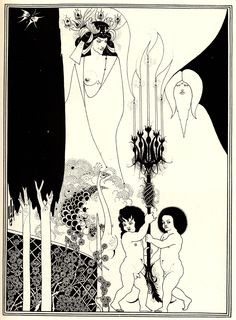Artist: Aubrey Beardsley Completion Date: 1894 Style: Art Nouveau (Modern) Genre: illustration Technique: lithography Gallery: Private Collection