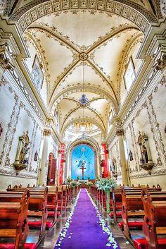 Interior de la Catedral de Tepic, #Nayarit #Mexico