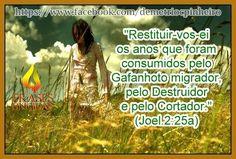 Restituição De Deus!