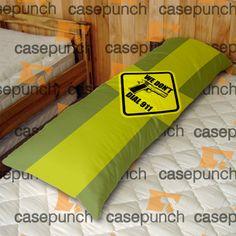 An1-funny Pro Gun I Don't Dial 911 Body Pillow Case