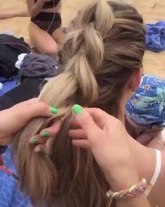 Medium Hair Styles, Natural Hair Styles, Long Hair Styles, Hair Styles Cool, Hair Medium, Medium Brown, Easy Hairstyles For Long Hair, Up Hairstyles, Country Girl Hairstyles