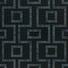 #Bisazza #Decori 2x2 cm Labirinto Nero | Feinsteinzeug | im Angebot auf #bad39.de 489 Euro/Pckg. | #Mosaik #Bad #Küche