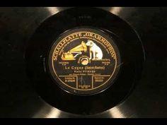 Prihoda plays Cygne on Acoustic Schallplatte Grammophon