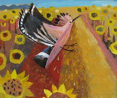 Hoopoe by Mary Sumner