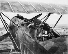 Fokker D.VII cockpit