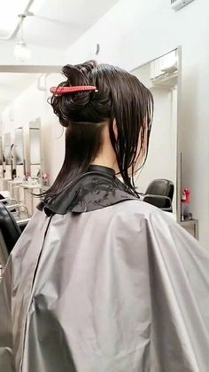 Updo Styles, Hair Styles, Capes, Blunt Bob, Hair Falling Out, Hair And Beauty Salon, Roller Set, Perm, Updos
