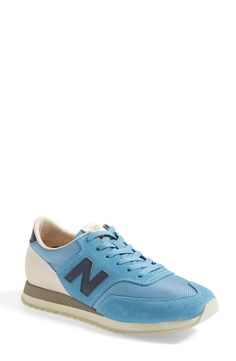 Colorful New Balance sneakers.