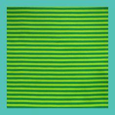 bio jersey strepen groen (180 breed)