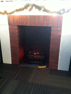Cardboard Fireplace Awesome Diy Idea Fireplaces