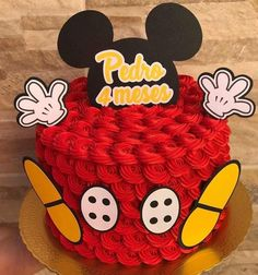Ideas Para Fiestas, Unique Cakes, Amazing Cakes, Disney Characters, Fictional Characters, Minnie Mouse, 15 Years, Bedrooms, Tortilla Pie