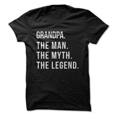 The Man. The Myth. The Legend. For Father Manning when the day comes to tell him he's going to be a Grandpa! My Guy, The Man, Sweaters Outfits, Red Sweaters, Cadeau Surprise, Shirt Designs, Vinyl Designs, Good Pranks, Fathers Day Shirts