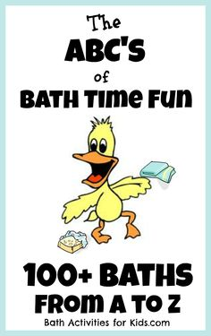 Bath Activities for Kids: Kids Bath Activities from A to Z
