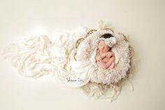 Cream Pelagio Faux Fur Photography Prop Rug | Beautiful Photo Props