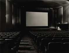 Diane Arbus - An Empty Movie Theater, N.Y.C., 1971