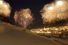 #Ischgl @ #night, a place to not just spend #New Year's, but the rest of the year, too.