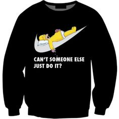 Lazy Homer Crewneck ($45) ❤ liked on Polyvore featuring tops, crew neck top, checkered top, crew-neck tops and crew top