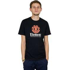 Element Vertical T-Shirt schwarz ★★★★★