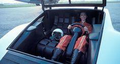 F&O Fabforgottennobility - gentlecar: Lancia Stratos Zero by Bertone - 1970